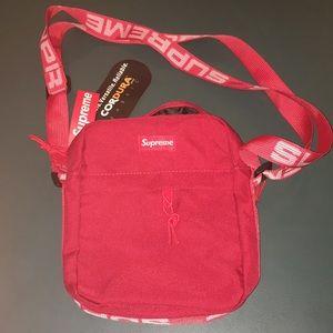 Other - Red Supreme Shoulder Bag NWT